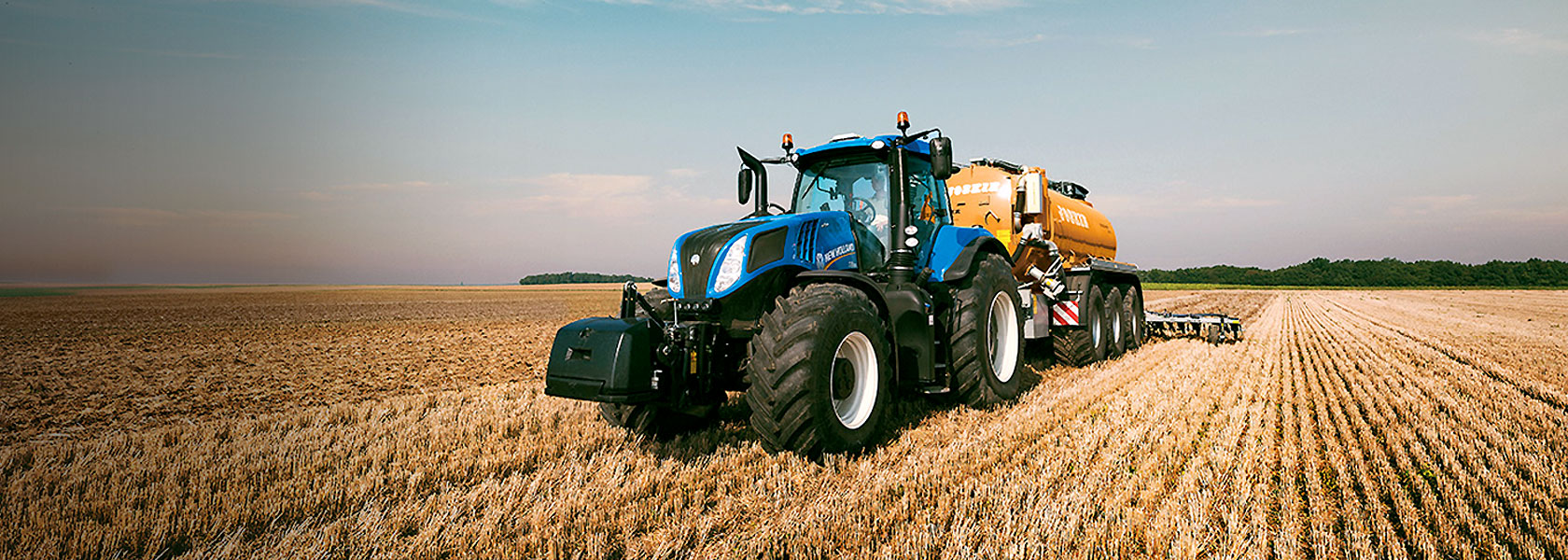 We are your New Holland dealer!